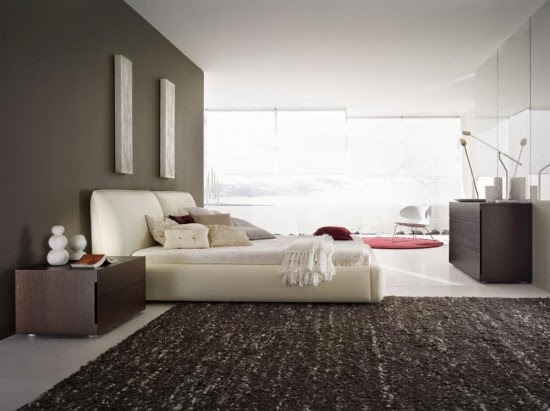 Ultra Modern Bedroom Design With Rossetto Pavo Bed From