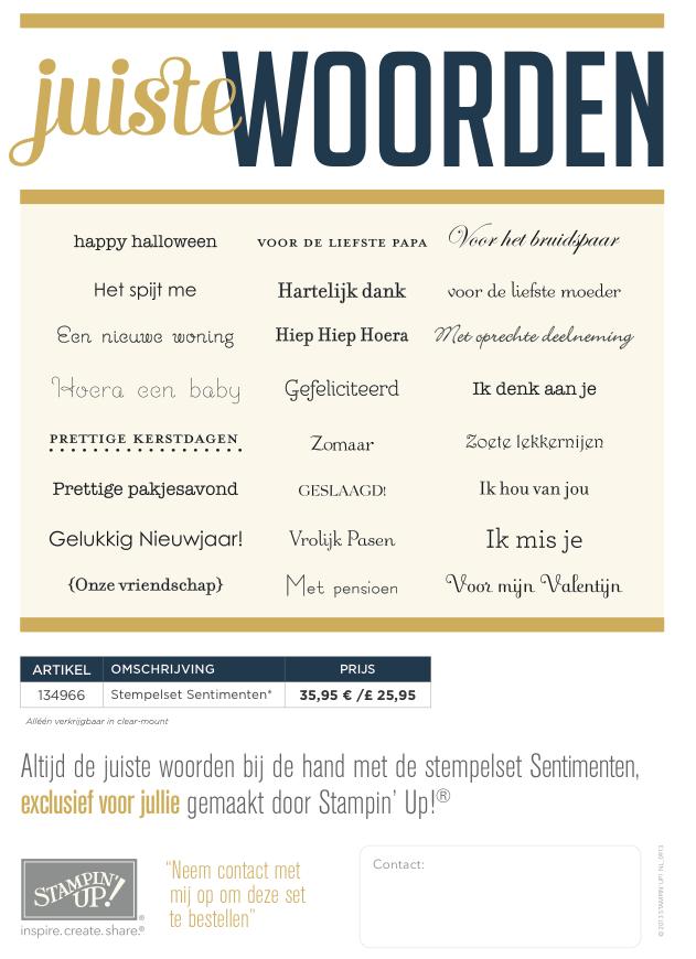 Nederlandstalige Stempelset (2)