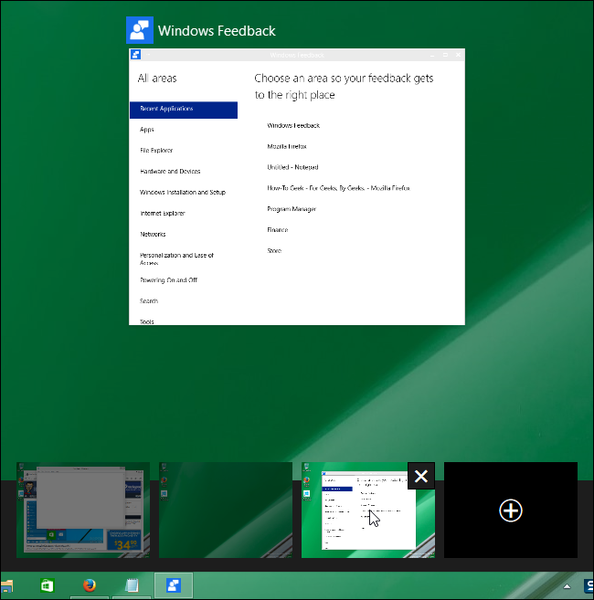 Using Virtual Desktops In Windows 10 8