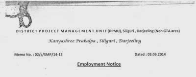 District Project Management Unit(DPMU) Darjeeling