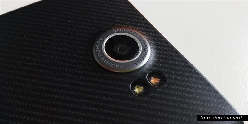 Kamera BlackBerry Priv