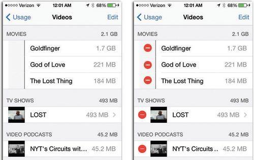 [iOS tips] - Tăng dung lượng bộ nhớ trống cho iPhone, iPad 2