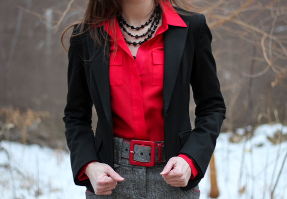 Red, Black & Tweed | StyleSidebar