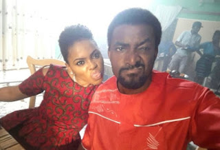 Chidinma and Demola Adedoyin