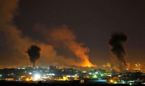 Roket Gaza hantam kawasan industri Israel selatan