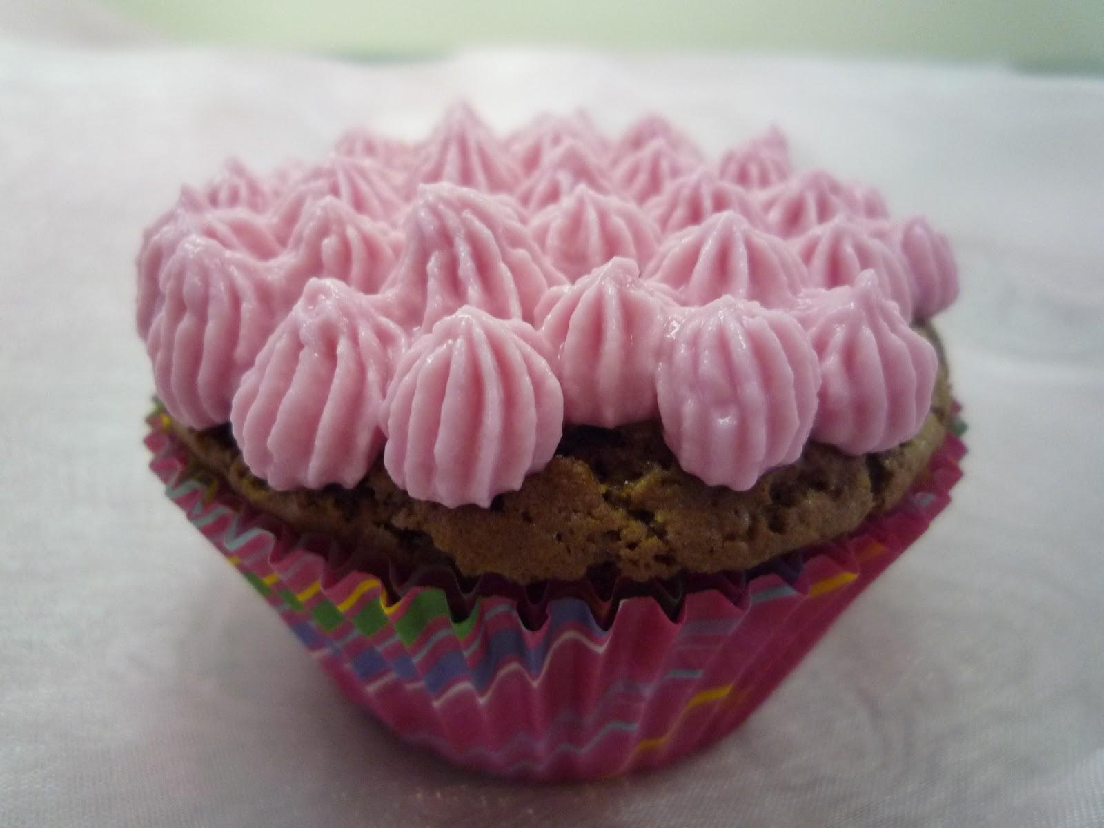 Cupcakes, Schoko-Himbeer-Cupcakes, Schokoladen-Cupcakes, Himbeer-Cupcakes