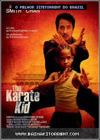 Capa Baixar Filme Karate Kid (the karate kid) Dublado   DVDRip RMVB   Torrent Baixaki Download