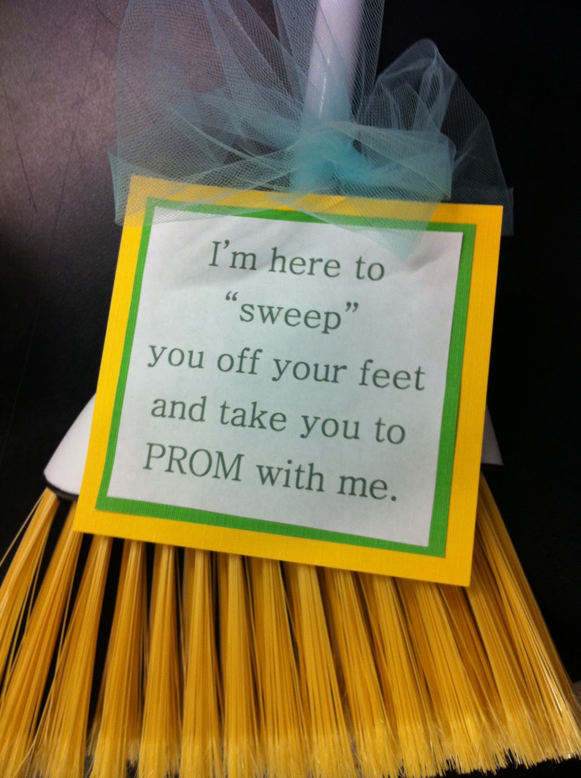 utah's crafty chick: prom asking ideas
