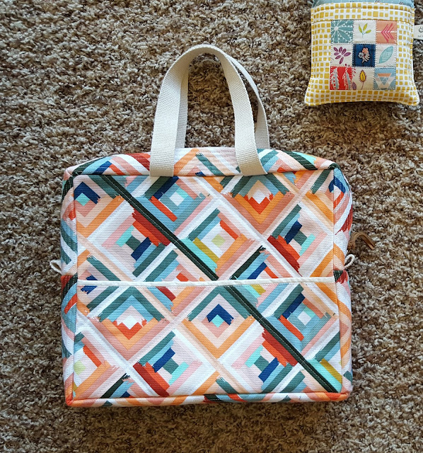 Art Gallery Fabrics Fleet & Flourish Bags by Heidi Staples