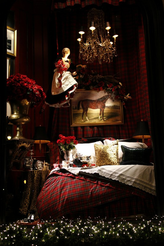 Eye for design decorating with tartan plaid for Ralph lauren decoration