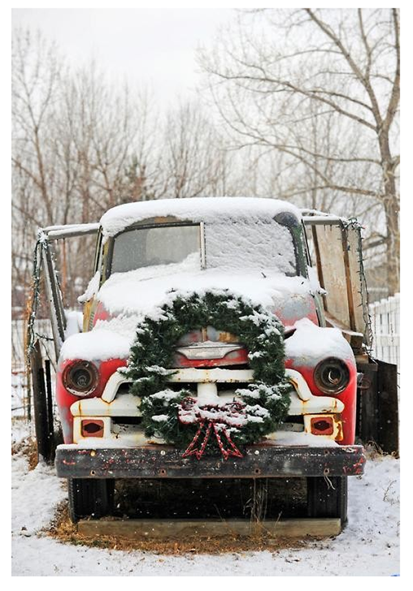 The adventures of tartanscot holiday inspiration for Vintage rustic christmas decorations
