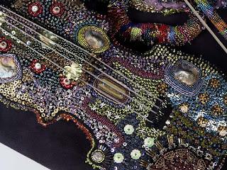 вышивание бисером Бисерная скрипка