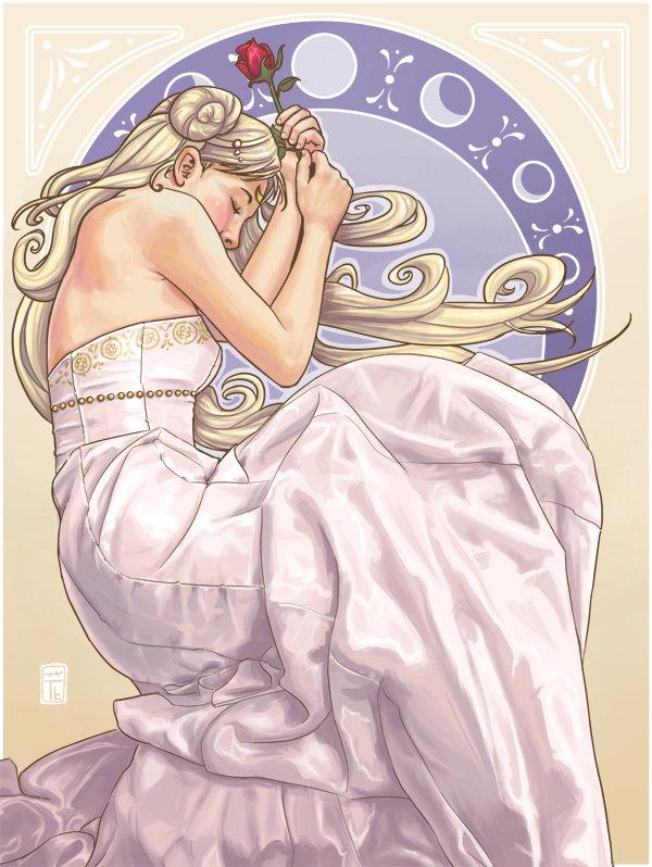 Princess Serenity por Hanasu
