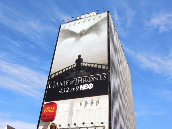 Giant Game of Thrones season 5 billboard