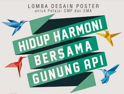 Lomba Desain Poster BPPTK 2014 SMP-SMA