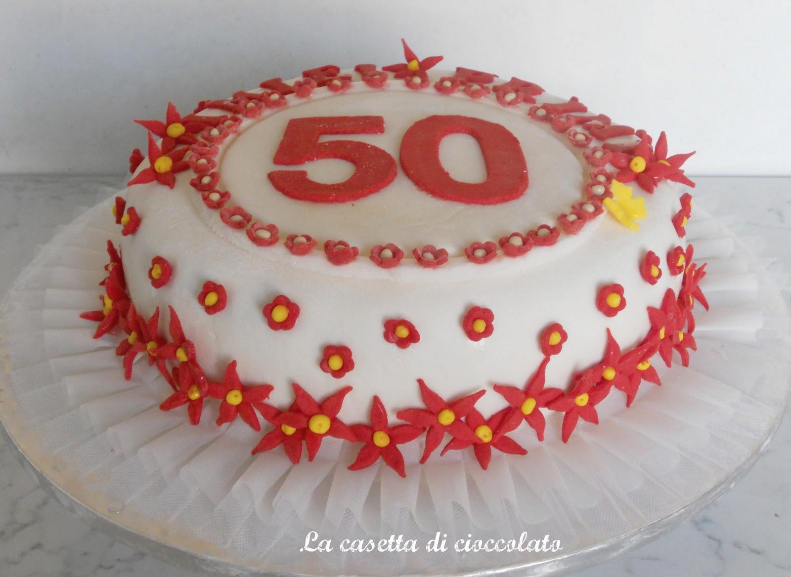 Eccezionale la casetta di cioccolato: I miei primi 50 anni DQ41