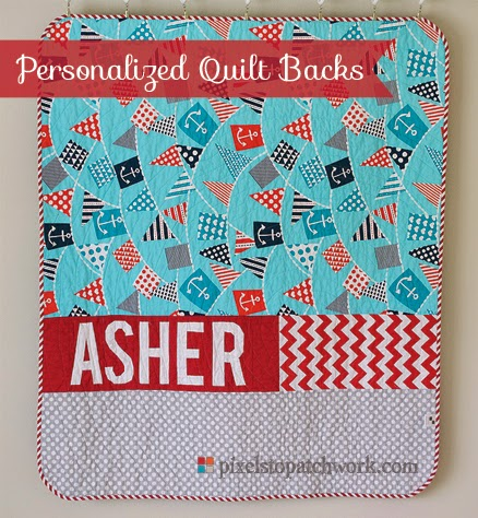 From Pixels To Patchwork Personalized Quilt Backs My Process