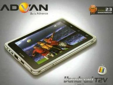 Harga Tablet Advan Terbaru Juni 2013