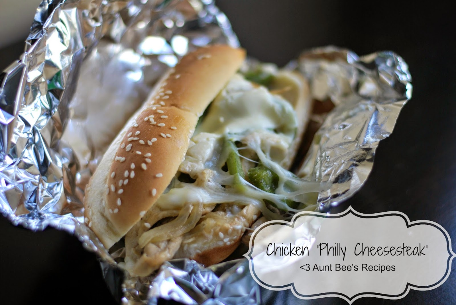 Chicken 'Philly Cheese Steak' | Aunt Bee's Recipes