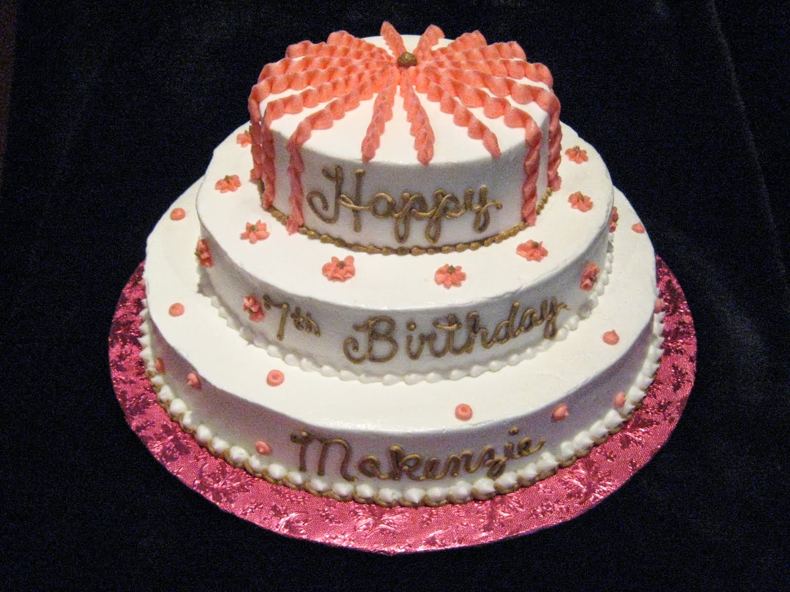 Birthday Cake Hd Images For Boy : cake birthday: Girl Birthday Cake Fun Feminine Way For The