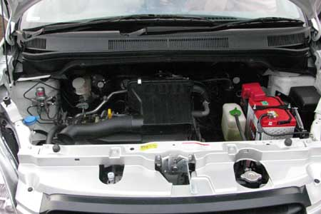 performa mesin mobil splash