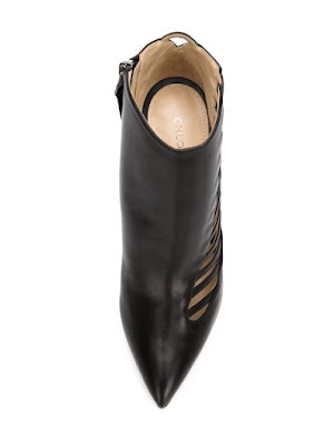 Chloe Gosselin 'Azalea'  Black Ankle Boots