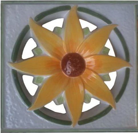Rooster Keramik Kembang yang Cantik !