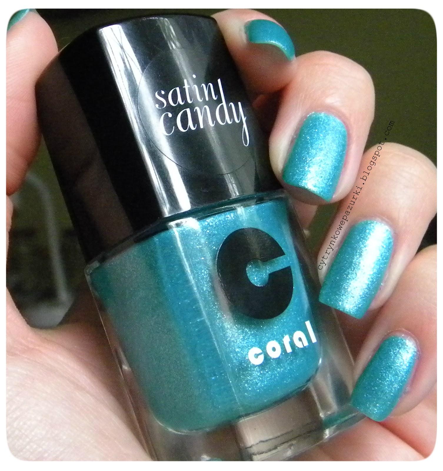 Delia Cosmetics, Coral Satin Candy, C01