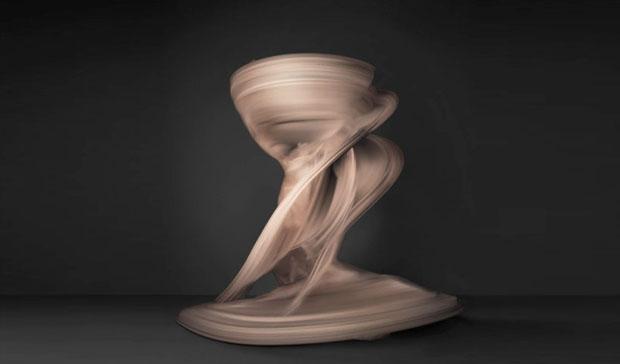 Akt artystyczny. Tancerka w tańcu. fot. Shinichi Maruyama