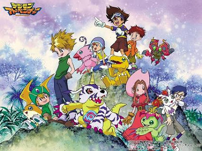 digimon re digitize adventure prima serie