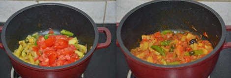 Tiffin sambar preparation