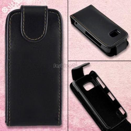 New Flip Leather Case Cover Housing For Nokia 5800 5230