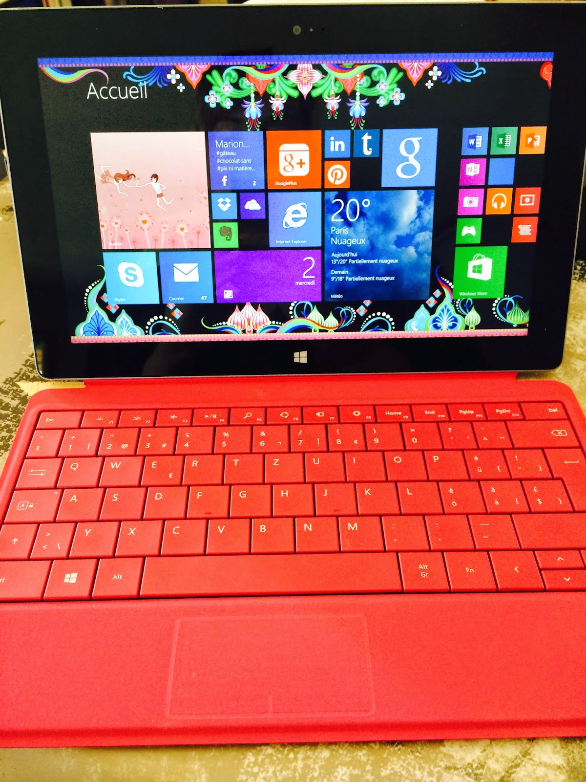 Microsoft Surface 2, a vendre, vente, tablette, apple, occasion, happy journal