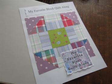 Click here to see my Binder for the My Favorite Block Quilt Along