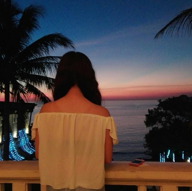 club punta fuego sunset view