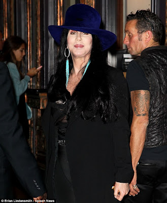Cher at The Pantages Theatre, Los Angeles in September 2012