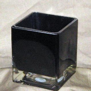 Buy Wholesale Black Glass Cubes