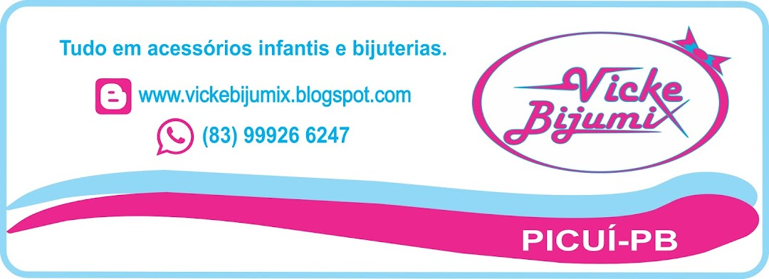 TUDO EM ACESSÓRIOS INFANTIS E BIJUTERIAS