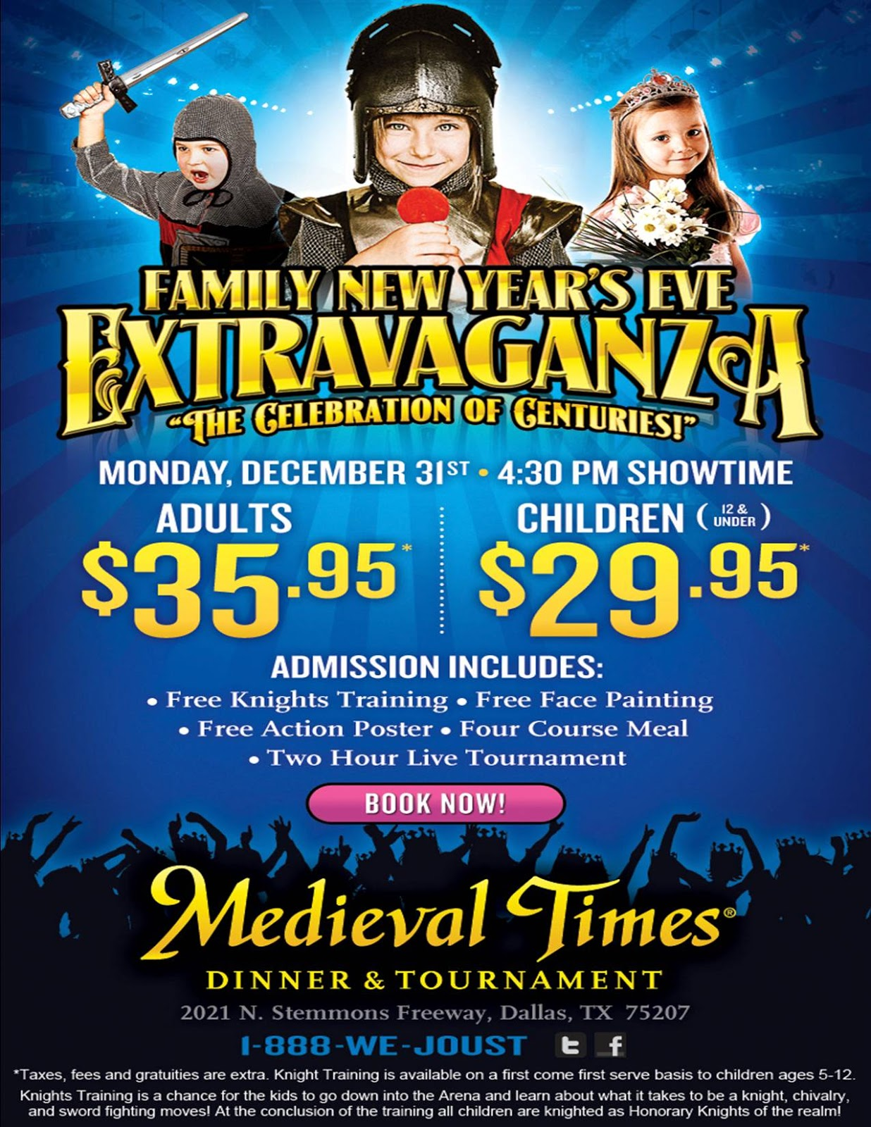 Discount coupons for medieval times