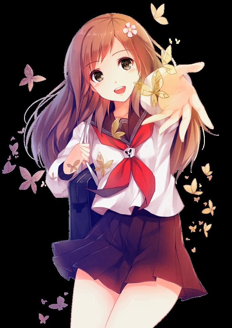Anime shoujo png garotas de animes variados for Imagenes movibles anime