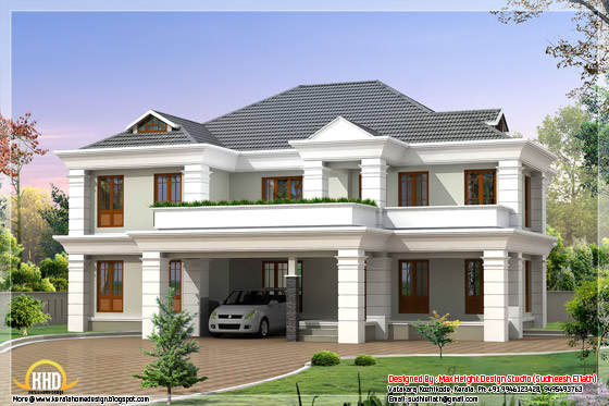 2850 square feet Indian home design