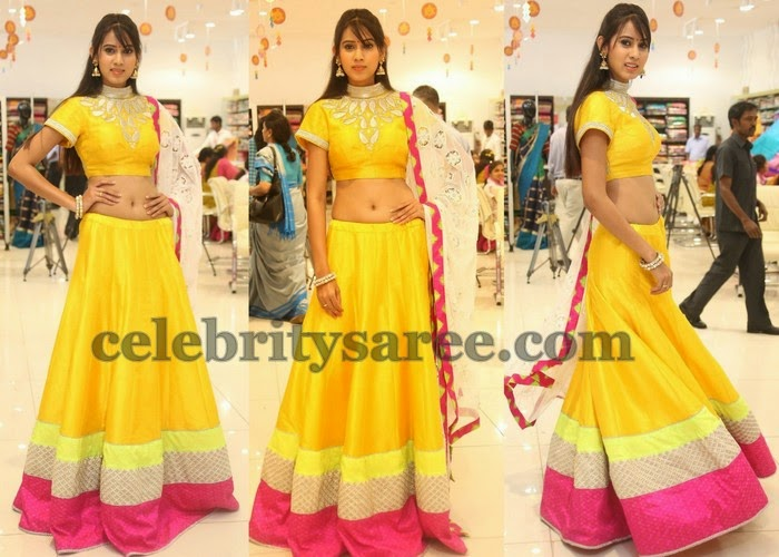 Honey Yellow Lehenga