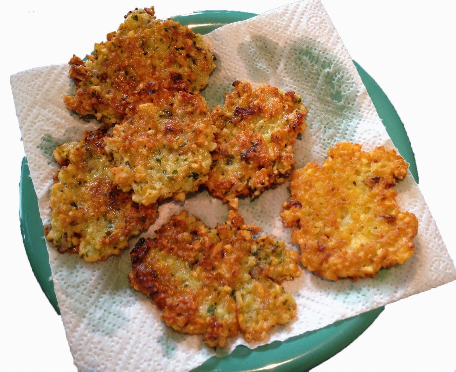 Crispy Potato Fritters (Gromperekichelcher) Recipe — Dishmaps