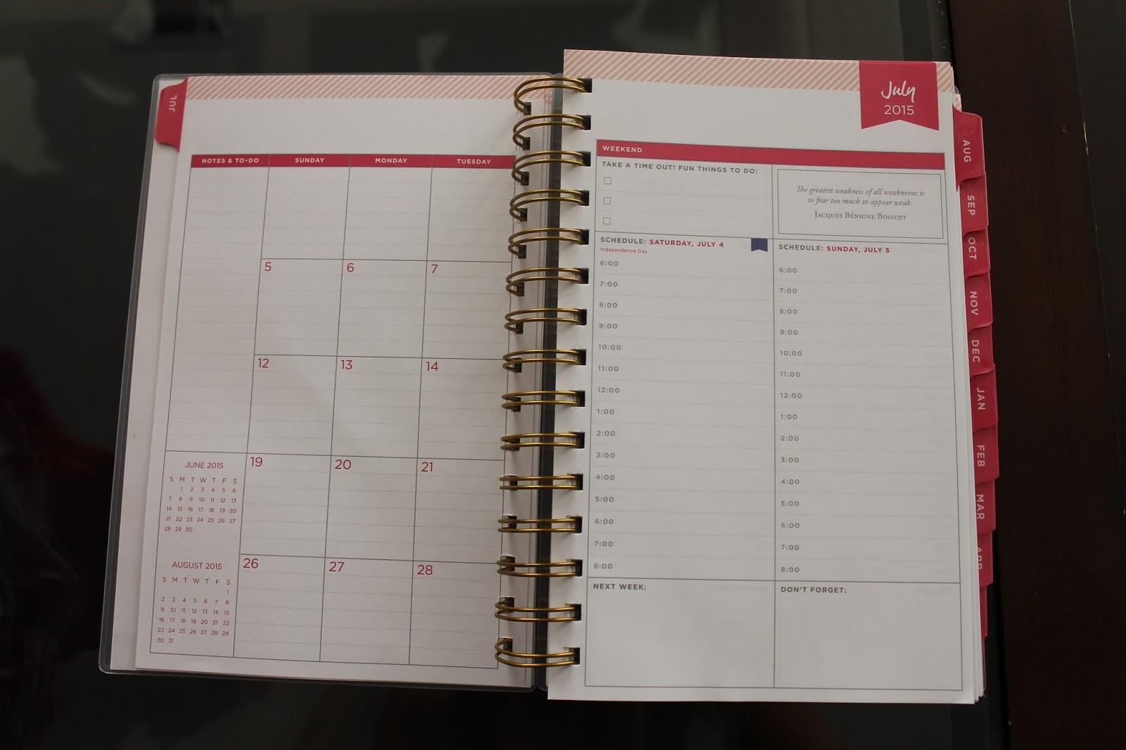 Calendar Planner Target : Whitney english day designer for blue sky target review haute