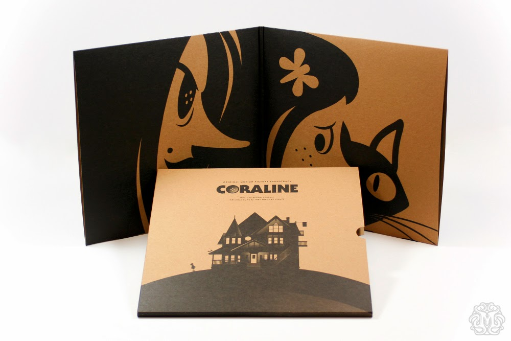 Coraline Soundtrack Vinyl Record by Mondo