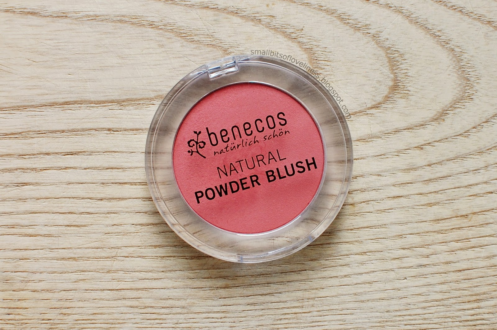 Benecos Sassy Salmon Natural Powder Blush