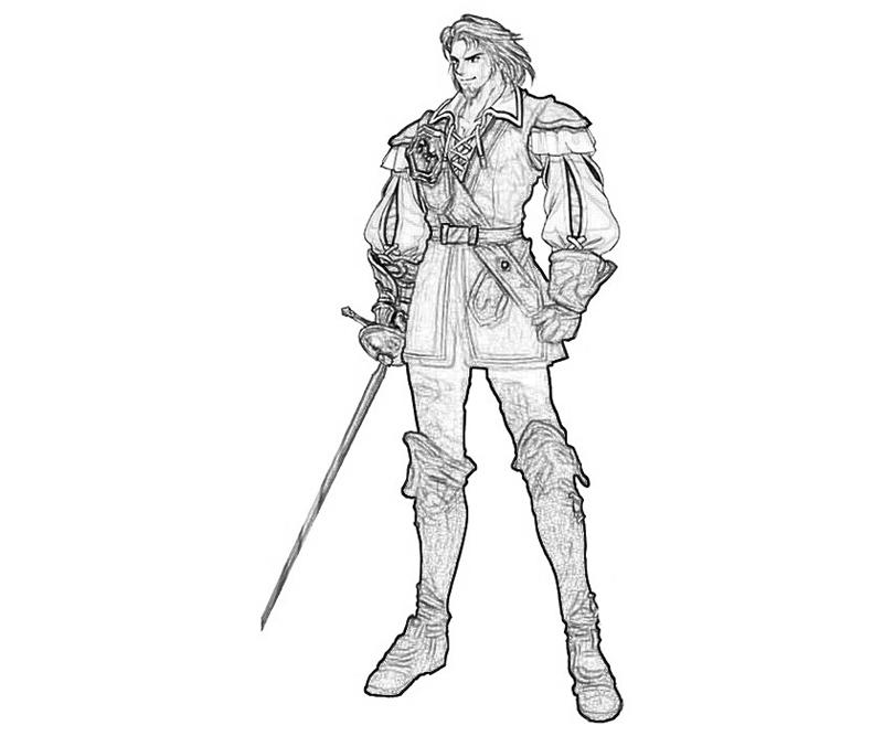 raphael-sorel-knight-coloring-pages