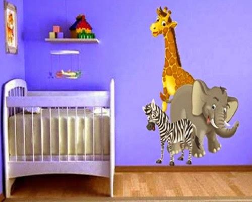 Magnifique Décoration chambre bébé Stickers