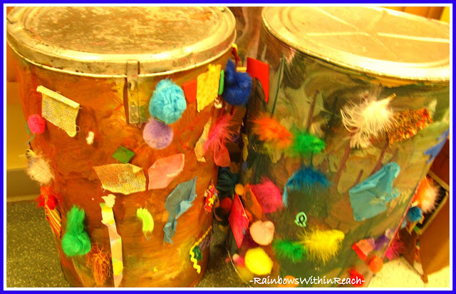 photo of: Multi-Media Exploration in Children's Art, Toddler Art Experiment