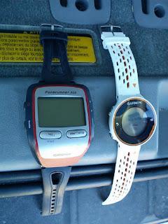 ガーミンFR305とFR620の比較
